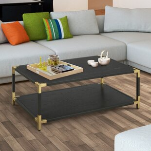 Goodwin Contemporary Coffee Table with Tray Top