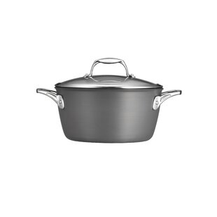 Gourmet Hard Anodized 5 Qt. Round Dutch Oven