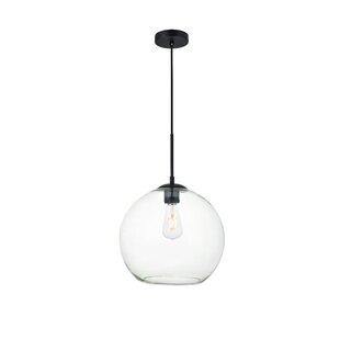 Bargain Eller 1-Light Globe Pendant By Wrought Studio