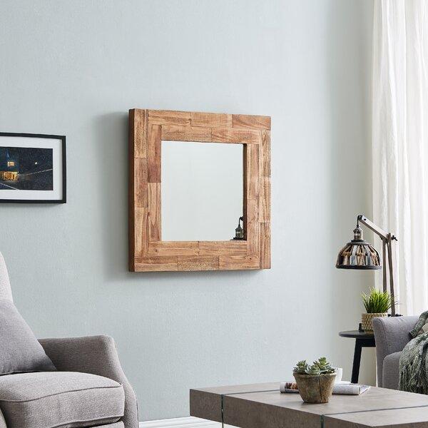 Gracie Oaks Enders Slat Wood Cottage Farmhouse Accent Mirror Wayfair