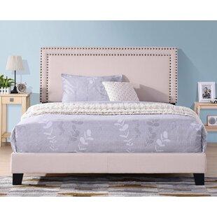 Buitron Queen Upholstered Low Profile Platform Bed