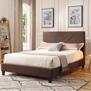 Gipson Upholstered Platform Bed by Williston Forge Sale