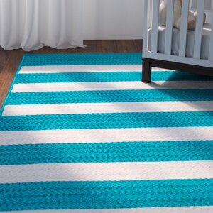 Georg Turquoise Indoor/Outdoor Area Rug
