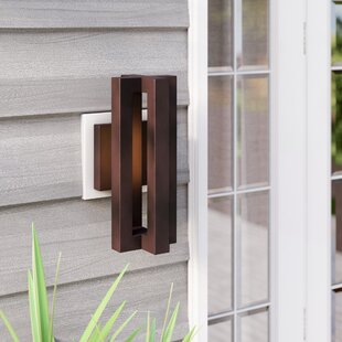 Deals Grundy 3-Light Outdoor Sconce By Wade Logan