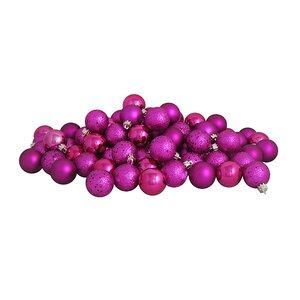96 Piece Shatterproof Christmas Ball Ornament Set