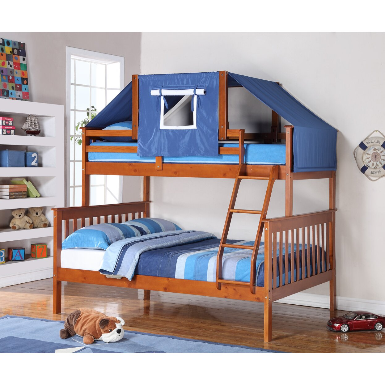 Medium image of donco kids twin over full futon bunk bed