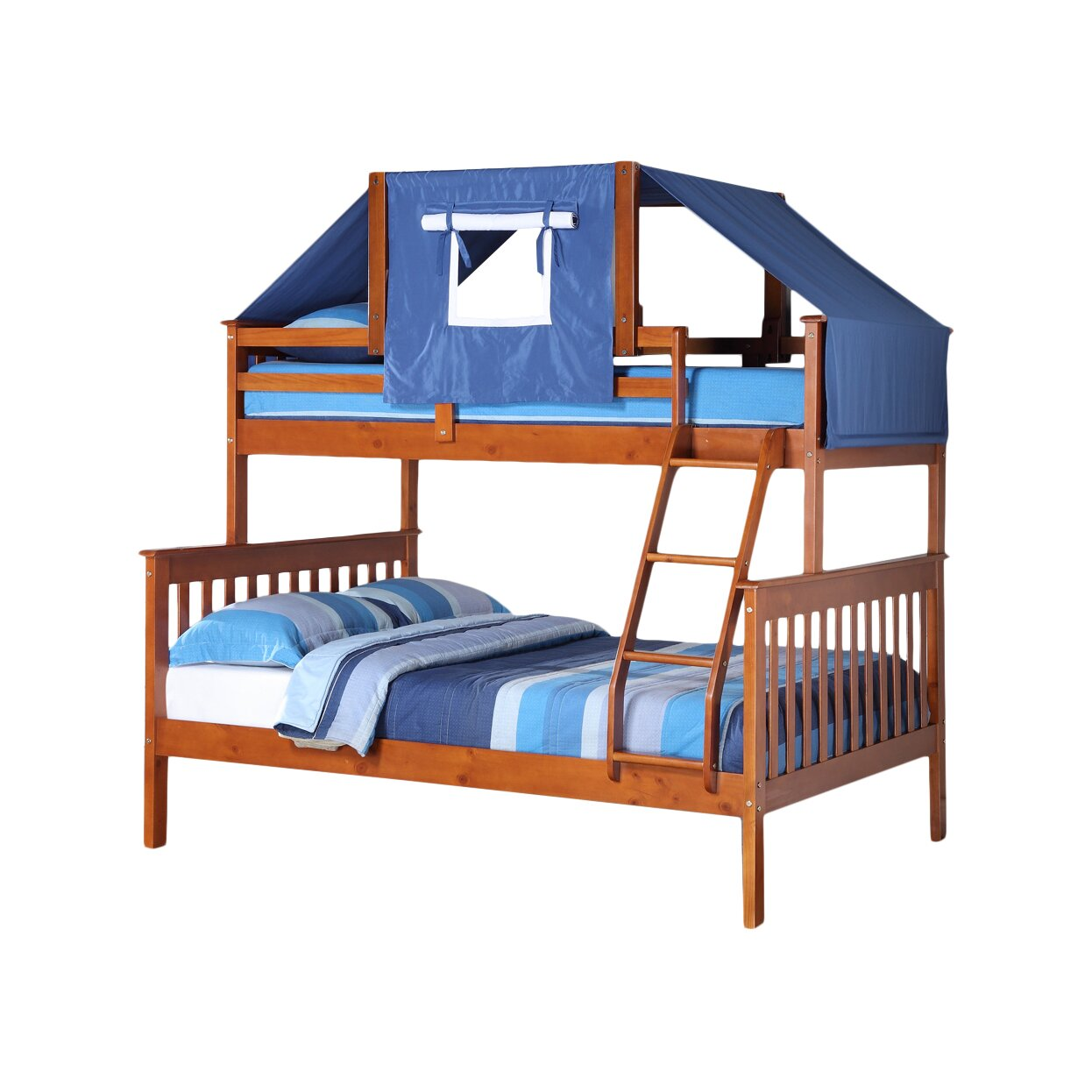 Donco Kids Twin over Full Futon Bunk Bed - Donco Kids Donco Kids Twin Over Full Futon Bunk Bed & Reviews