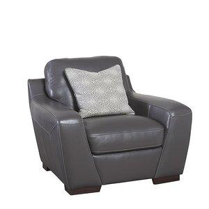 Rethman Leather Armchair by Brayden Studio