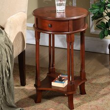Asheville Round Accent End Table by Darby Home Co