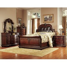 Amalfi Upholstered Panel Bed by Astoria Grand