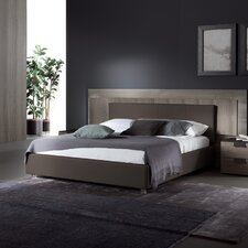 Upholstered Platform Bed by Rossetto USA