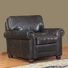 Genesis Club Chair by Lazzaro Leather