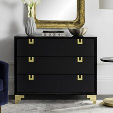 Beaufort3 Drawer Chest by Willa Arlo Interiors