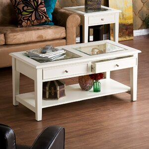 Godbey Amberly Coffee Table by Three Posts