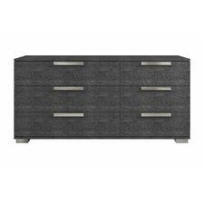 Hampton 6 Drawer Dresser by Casabianca Furniture