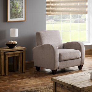 Rossini Chenille Fabric Arm Chair