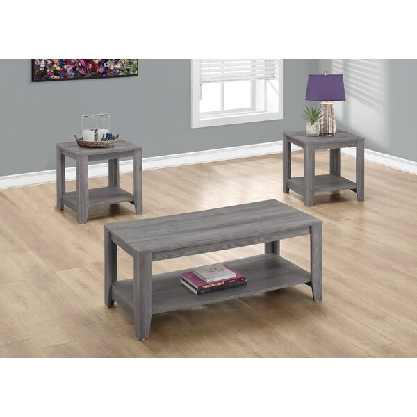 3pc coffee table set | wayfair