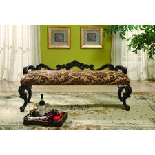 Liege Upholstered Entryway Bench by Eastern Legends
