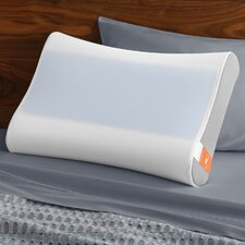contour side to side breeze memory foam queen pillow