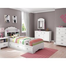Bedroom Sets For Girls Jaclyn Place Ivory 5 Pc Full Panel
