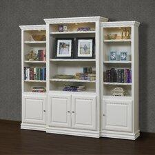 French Restoration Kamran 86 Oversized Set Bookcase by A&E Wood Designs
