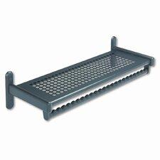 36 Wide Wall Shelf Rack, Steel, Black Powder Coat by GBC