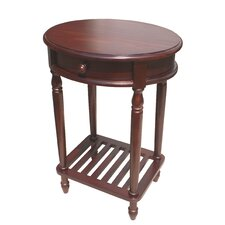 Bellingham Oval End Table by D-Art Collection