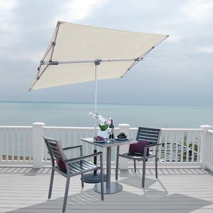 Federico 5u0027 X 7u0027 Rectangular Market Umbrella