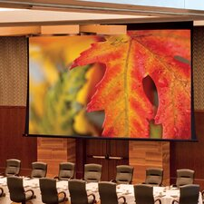 Paragon/Series V Matte White Electric Projection Screen by Draper