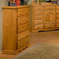 Lucie 5 Drawer Chest by August Grove