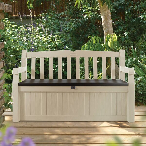 Keter All Weather Resin Storage Bench U0026 Reviews | Wayfair