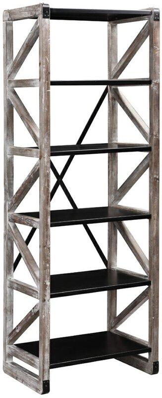 "trent austin design montevina 73"" etagere bookcase & reviews | wayfair"