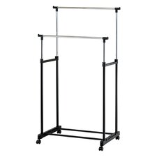 Metal Double Garment Rack by Mind Reader