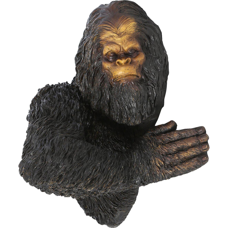 Bigfoot lawn ornament - Bigfoot The Bashful Yeti Tree Statue