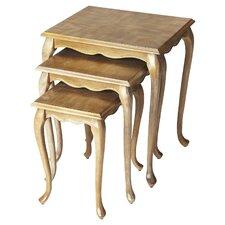 Parker 3 Piece Nesting Tables by Astoria Grand