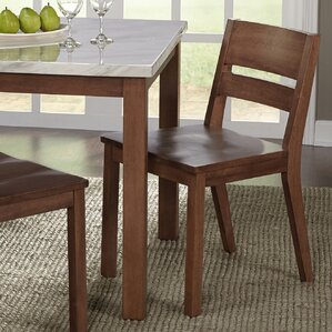 wood kitchen & dining chairs you'll love   wayfair