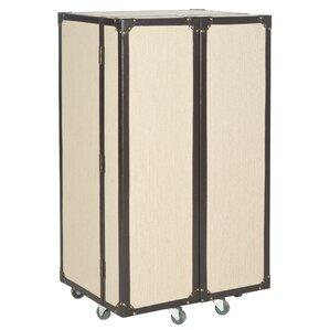 grayson bar cabinet with wine storage