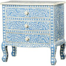 Collier Inlay 3 Drawer Chest by Mistana