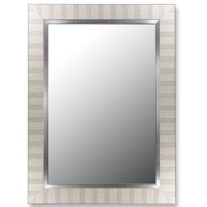 Parma Silver And Satin Nickel Wall Mirror