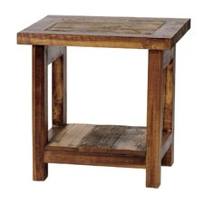 The Wyoming Collection End Table by Mountain Woods Furniture