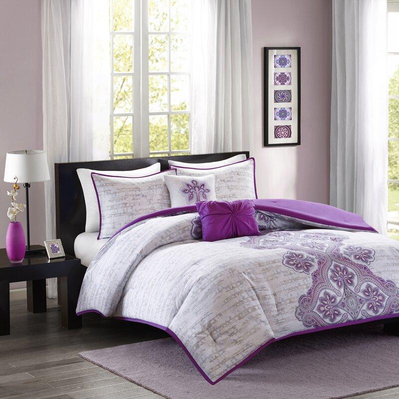 intelligent design avani comforter set & reviews | wayfair