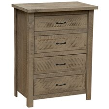 Frontier 4 Drawer Chest by Fireside Lodge