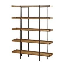 """Wanda 5 Shelf 72"""" Etagere Bookcase"""