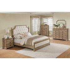 Pennington Panel 5 Piece Wood Bedroom Set by One Allium Way