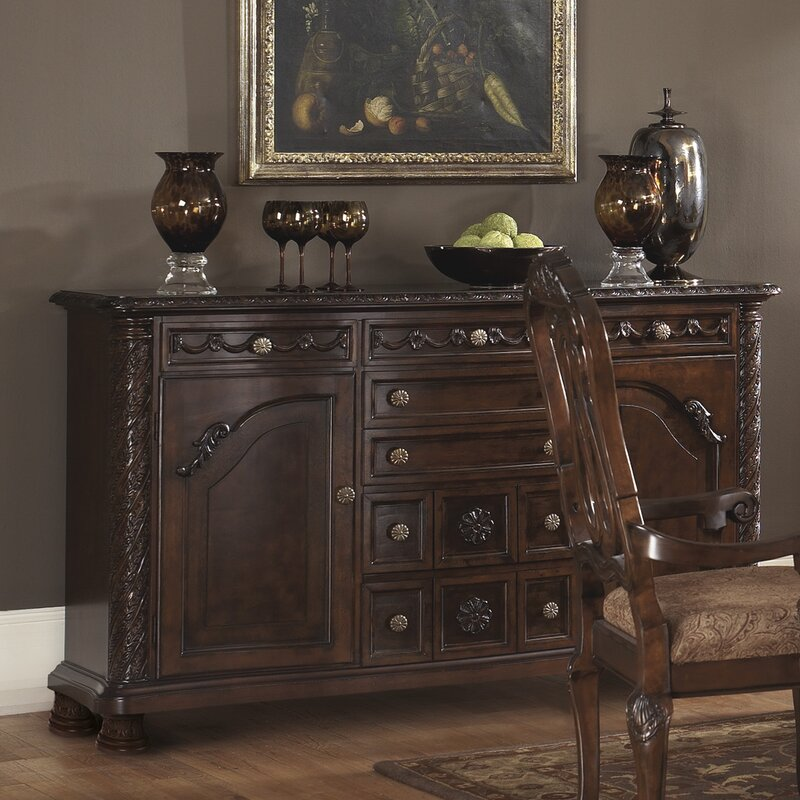 wildon home ® north shore dining room sideboard & reviews | wayfair