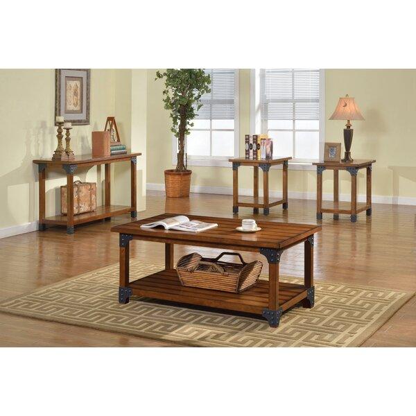 hokku designs galao 3 piece coffee table set & reviews | wayfair