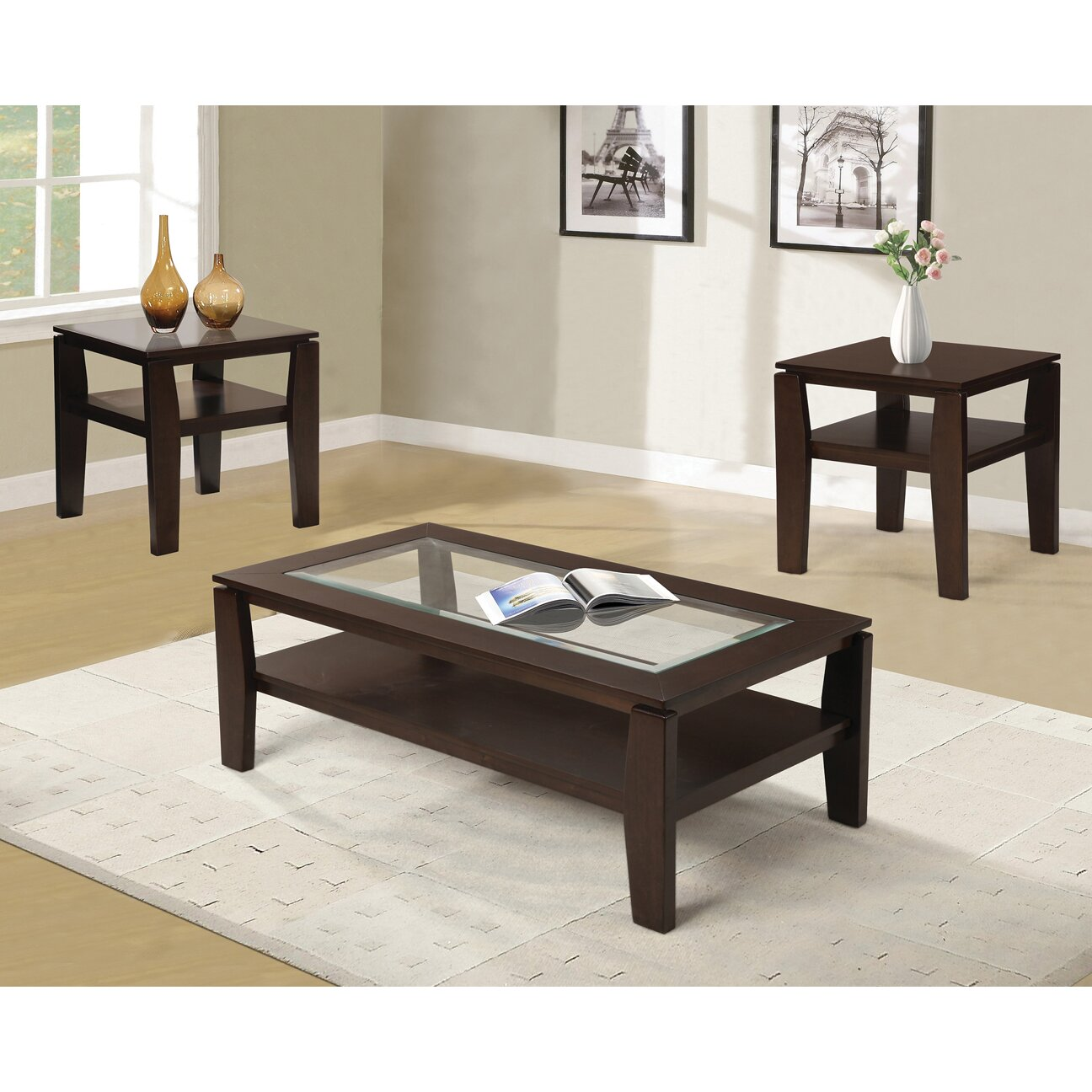 Red Barrel Studio Golder 3 Piece Coffee Table SetReviewsWayfair