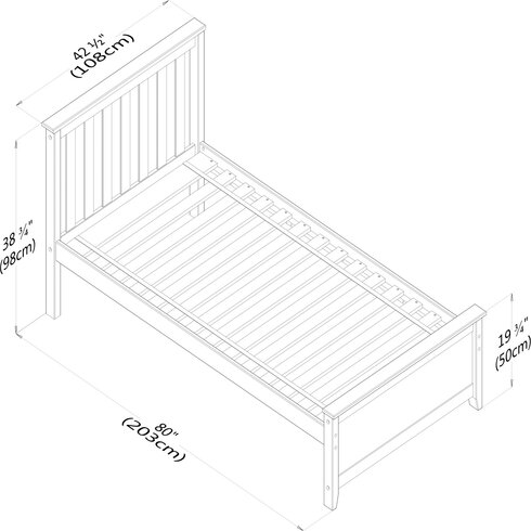 InterDesign Axis Basket 56170 ITI1405 further C A R A V A N moreover 14364905 likewise Max And Lily Solid Wood Twin Platform Bed MXLI1003 as well Flexible Distressed Twin Bed 3347189 TH2537. on neutral living room furniture
