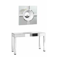 Melodie Console Table with Mirror by Orren Ellis