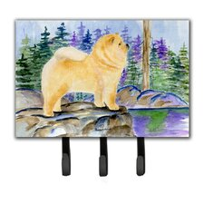 Chow Chow Leash Holder and Key Holder by Caroline's Treasures